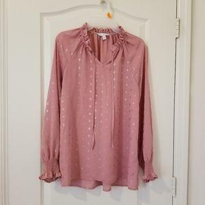 Tea pink tunic/ blouse